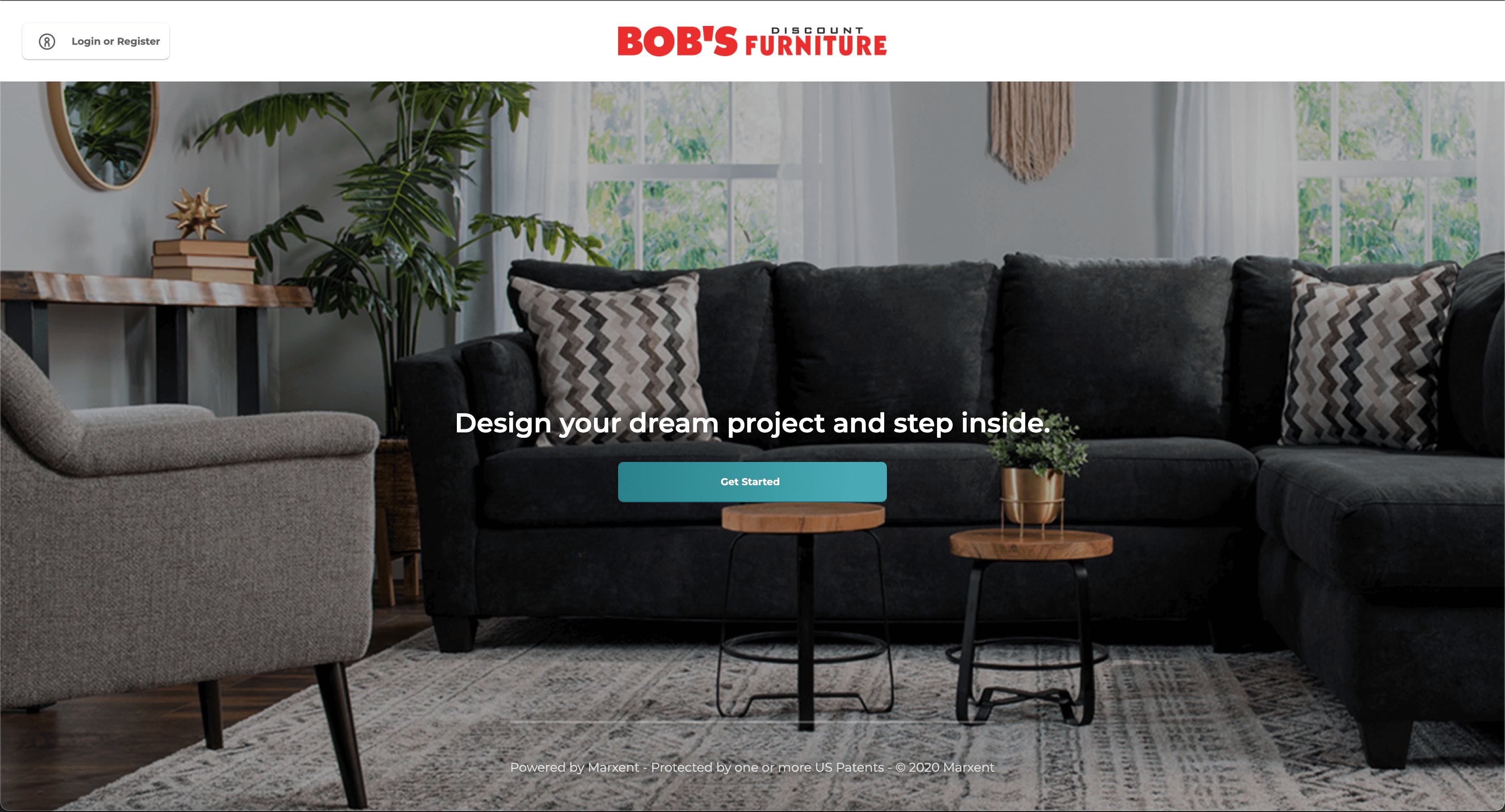 Click here to launch our 3D Room Designer
