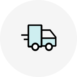 Delivery warranty logo
